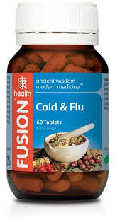 Fusion Cold & Flu 60 tablets