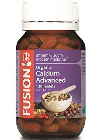 Fusion Organic Calcium Advanced 120 tablets