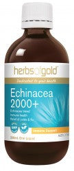 Herbs of Gold Echinacea 2000+ 100ml - Mountain Health Online