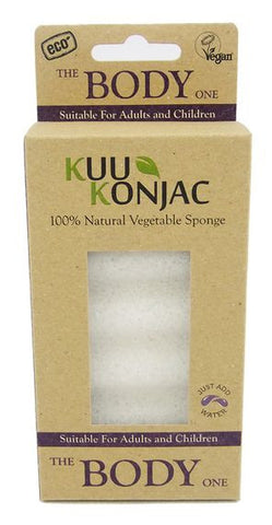 Kuu Konjac The Body Sponge - Mountain Health Online