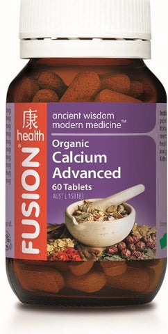 Fusion Organic Calcium Advanced 60 tablets