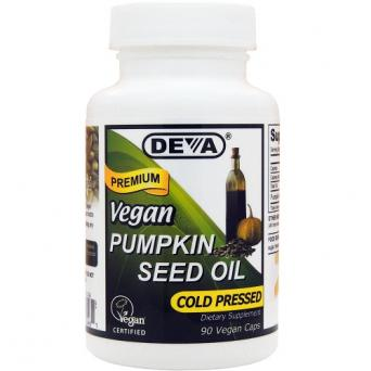 Deva Vegan Pumpkin Seed Oil 90 caps
