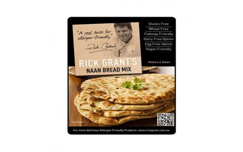 Rick Grant's Naan Bread Mix 200g - Mountain Health Online