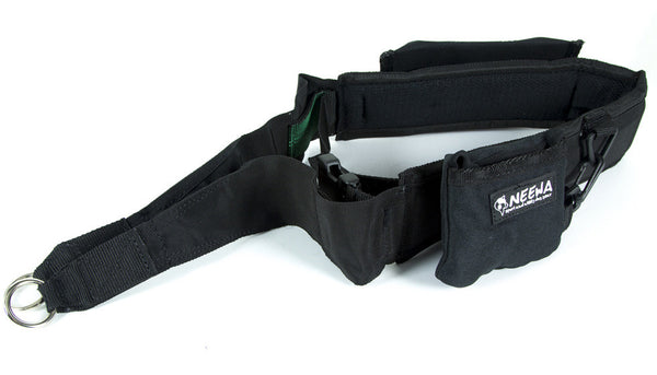 Hands Free dog leash Belt for trekking, with pocket