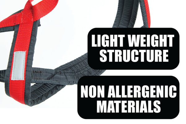 Light weight structure with non allergenic materials