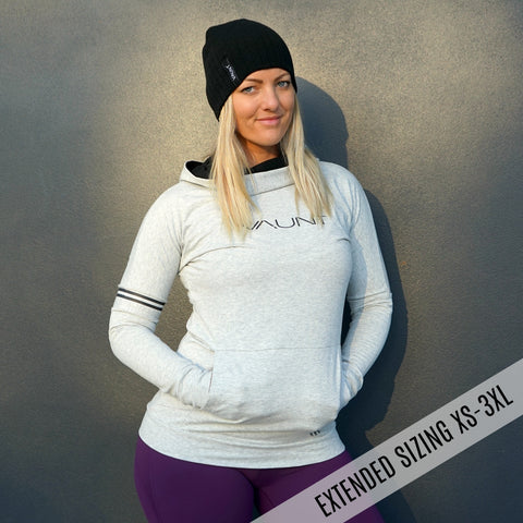 ASTANA PULLOVER - GREY MARLE
