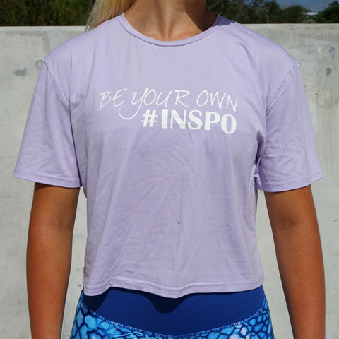 BE YOUR OWN INSPO TSHIRT - LILAC