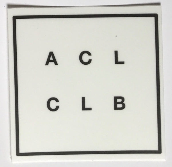 Stickers - ACL CLUB Logo