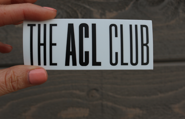 Sticker - theACLclub