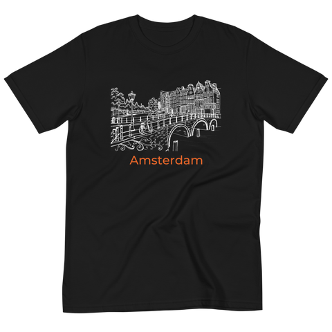 Amsterdam Canal Organic T-Shirt - You-Color