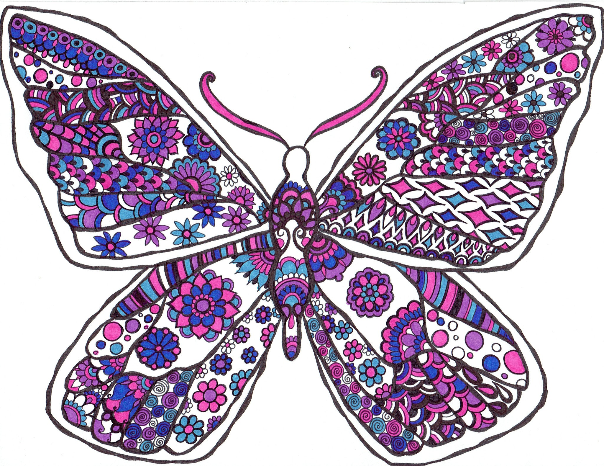 Butterfly Pinks and Purples - You-Color