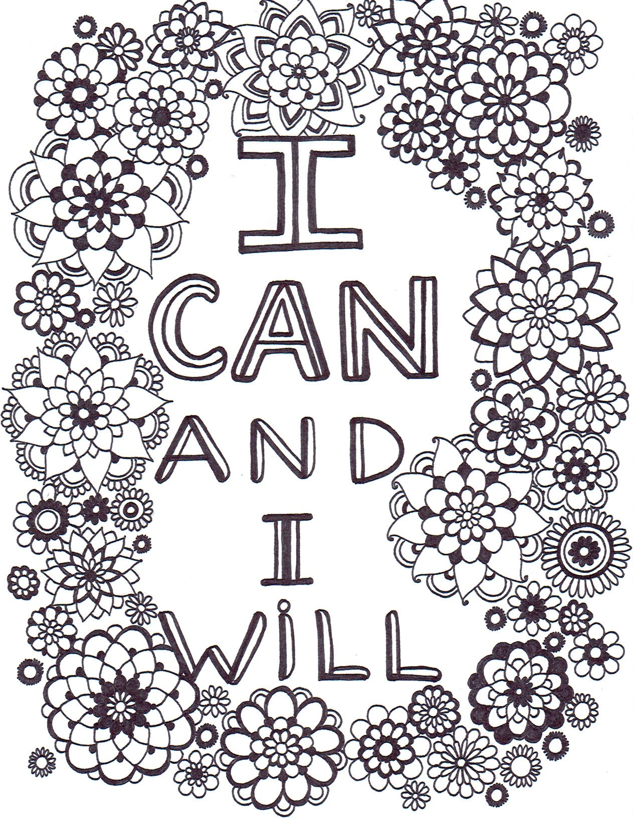 I CAN AND I WILL - You-Color