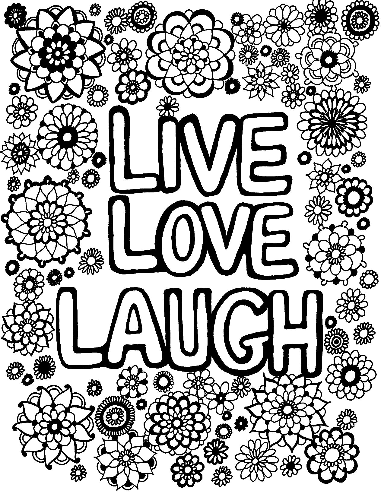 Live Love Laugh - You-Color