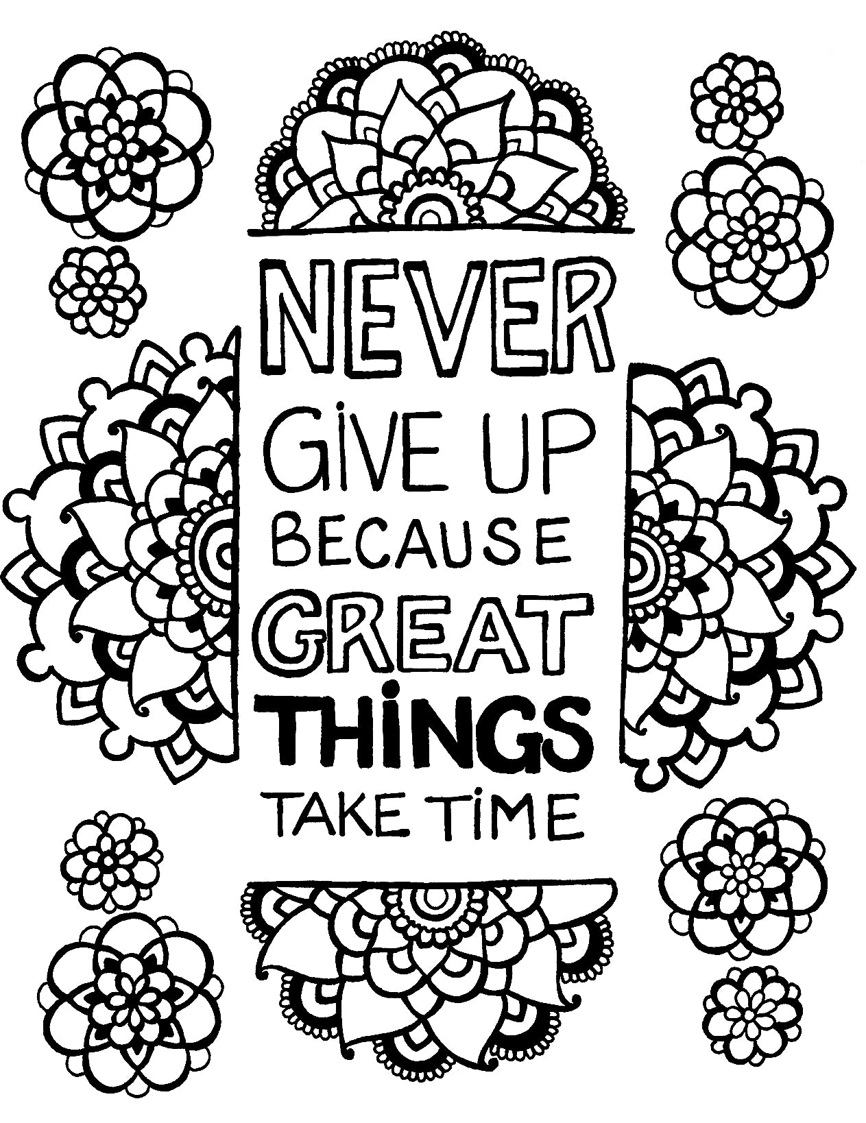 Never Give Up - You-Color