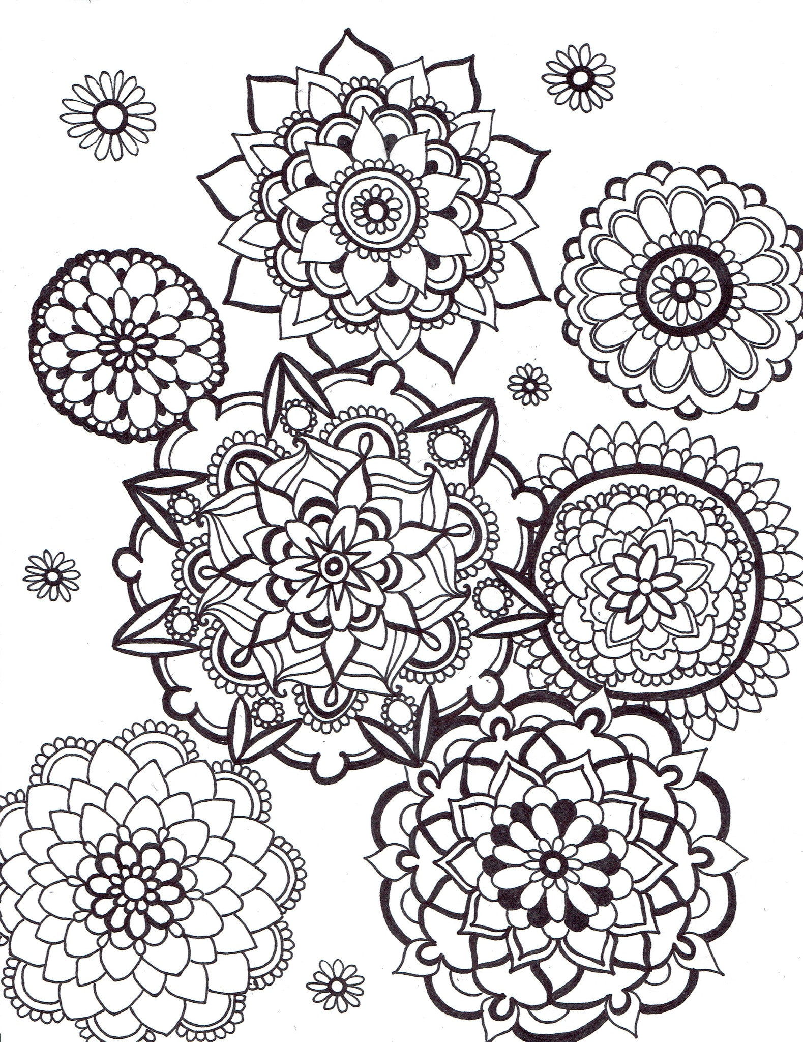 Sweet home mandalas - You-Color