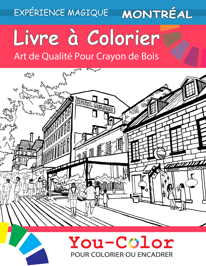 Montreal Coloring Book: Magical Places Coloring Books (Volume 1) - You-Color