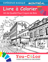Montreal Coloring eBook - Bilingual Edition - You-Color