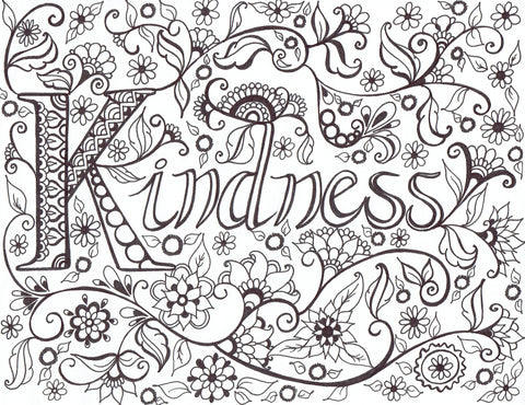 Hope Gallery Of Free Art & Inspirations - Printable Coloring Pages –  You-Color