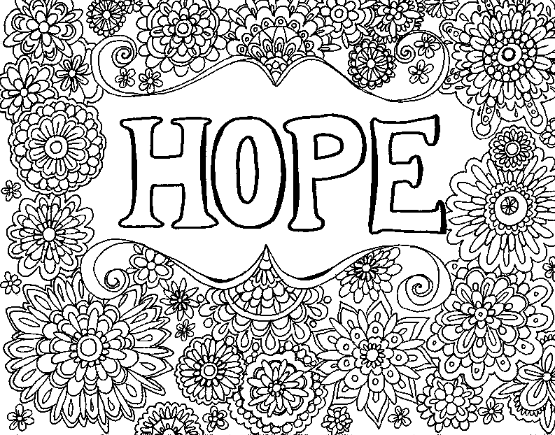 HOPE - Keep the Hope - You-Color