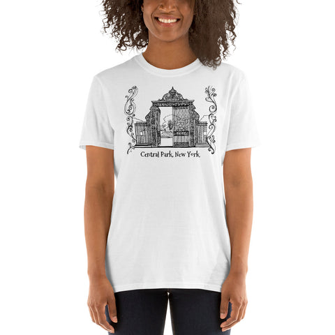 Central Park, New York Short-Sleeve Unisex T-Shirt - You-Color