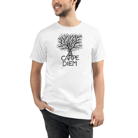 Carpe Diem Tree Organic T-Shirt - You-Color