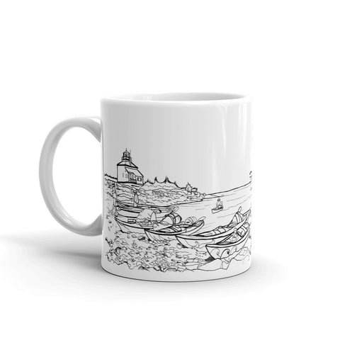 Halifax Coffee Mug - Kayaking - You-Color