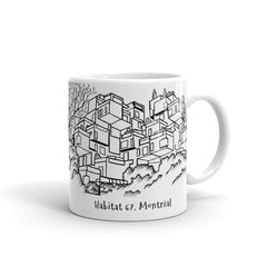 Montreal Coffee Mug - Habitat 67 - You-Color