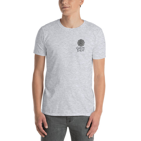 Carpe Diem small over Heart Short-Sleeve Unisex T-Shirt - You-Color