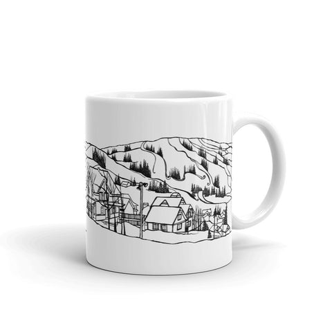 Bromont Coffee Mug - Ski Hill of Bromont - You-Color