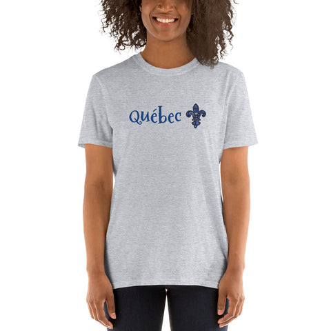 Québec Short-Sleeve Unisex T-Shirt - You-Color