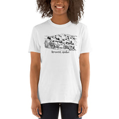 Bromont, Québec Ski Resort Short-Sleeve Unisex T-Shirt - You-Color