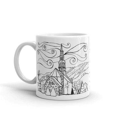Bromont - Saint-François Xavier Chruch Coffee Mug - You-Color