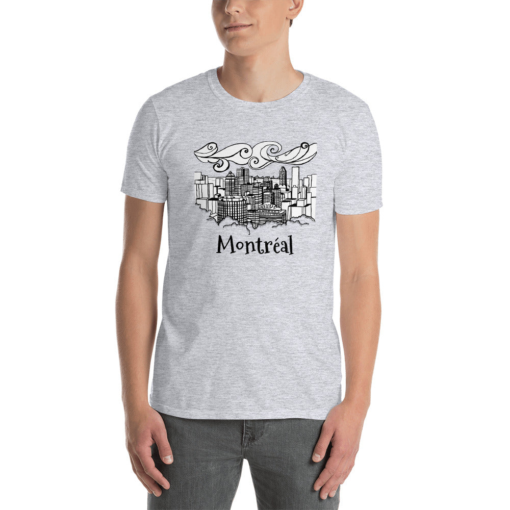 View from Mont-Royal - Downtown Montreal Short-Sleeve Unisex T-Shirt - You-Color