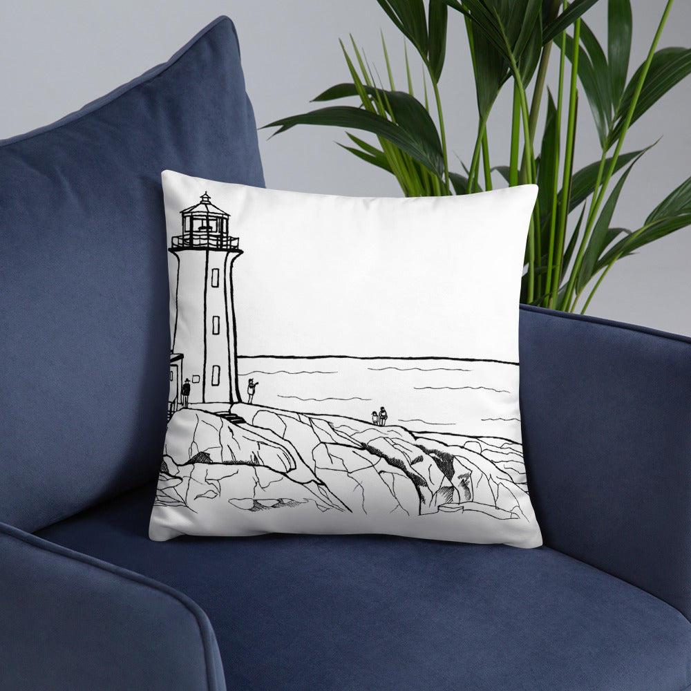 Halifax 2 sides Throw Pillows - You-Color