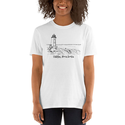 Lighthouse Halifax Nova Scotia Short-Sleeve Unisex T-Shirt - You-Color