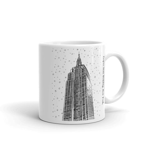 New York Coffee Mug - Empire State Building - You-Color