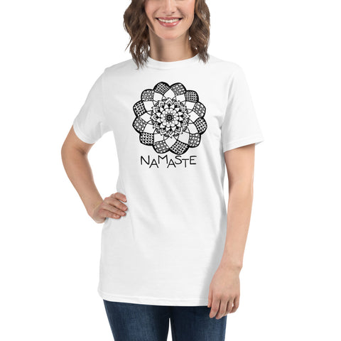 Namaste with Mandala Organic T-Shirt - You-Color