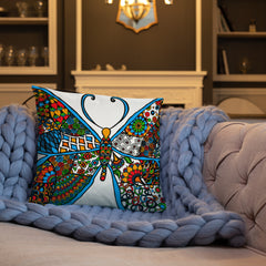 Butterfly Effect Throw Pillows - You-Color