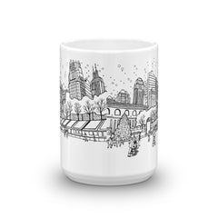 New York Coffee Mug - Rockefeller Center - You-Color