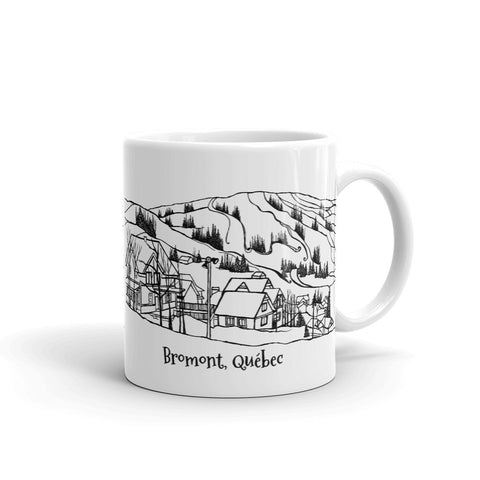 Bromont, Québec Coffee Mug - You-Color