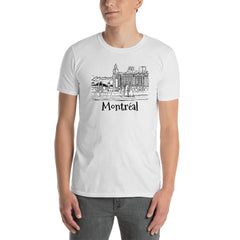 Montreal Old Port Short-Sleeve Unisex T-Shirt - You-Color