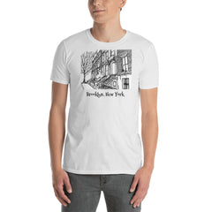 Cobble Hill, Brooklyn, New York Short-Sleeve Unisex T-Shirt - You-Color