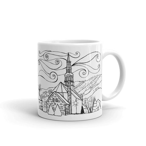 Bromont - Saint-François Xavier Church Coffee Mug - You-Color