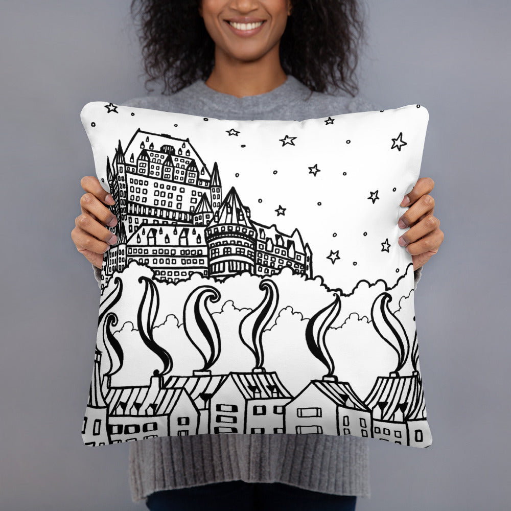 Quebec Throw Pillows - You-Color