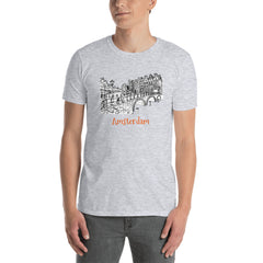 Amsterdam Keizersgracht Canal  Short-Sleeve Unisex T-Shirt - You-Color