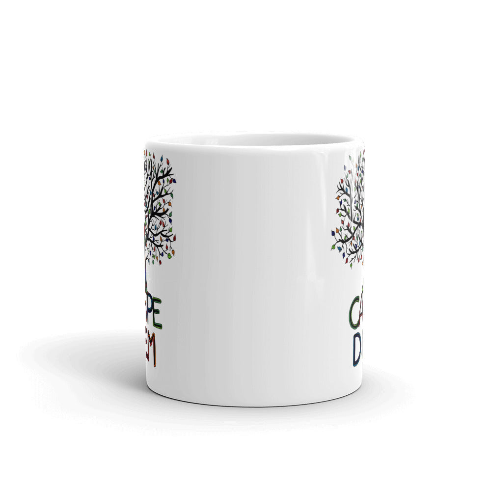 Mandalas Coffee Mugs Carpe Diem Tree - You-Color