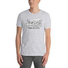 Halifax Nova Scotia Harbor Short-Sleeve Unisex T-Shirt - You-Color
