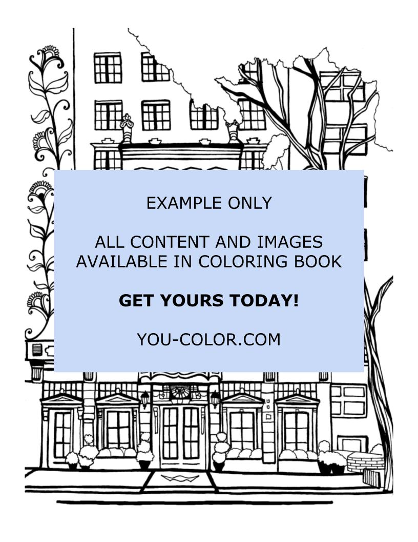 Walker Hotel Greenwich Village - Coloring Page