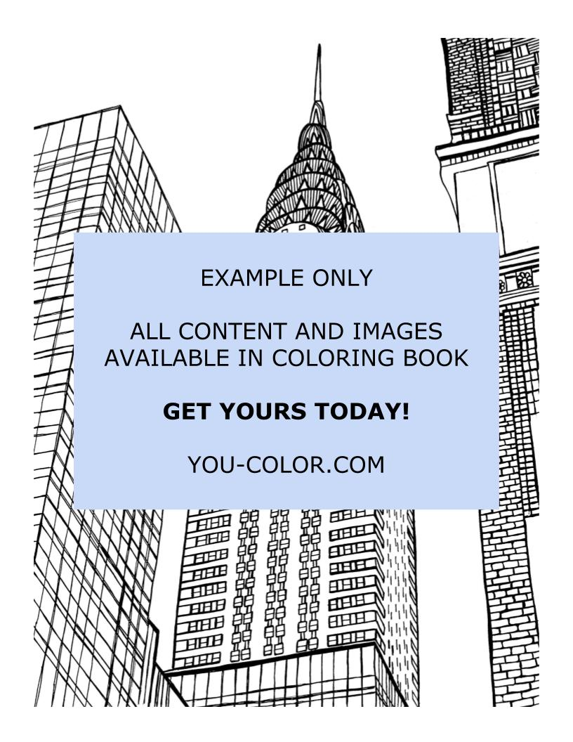 The Chrysler Building - Coloring Page