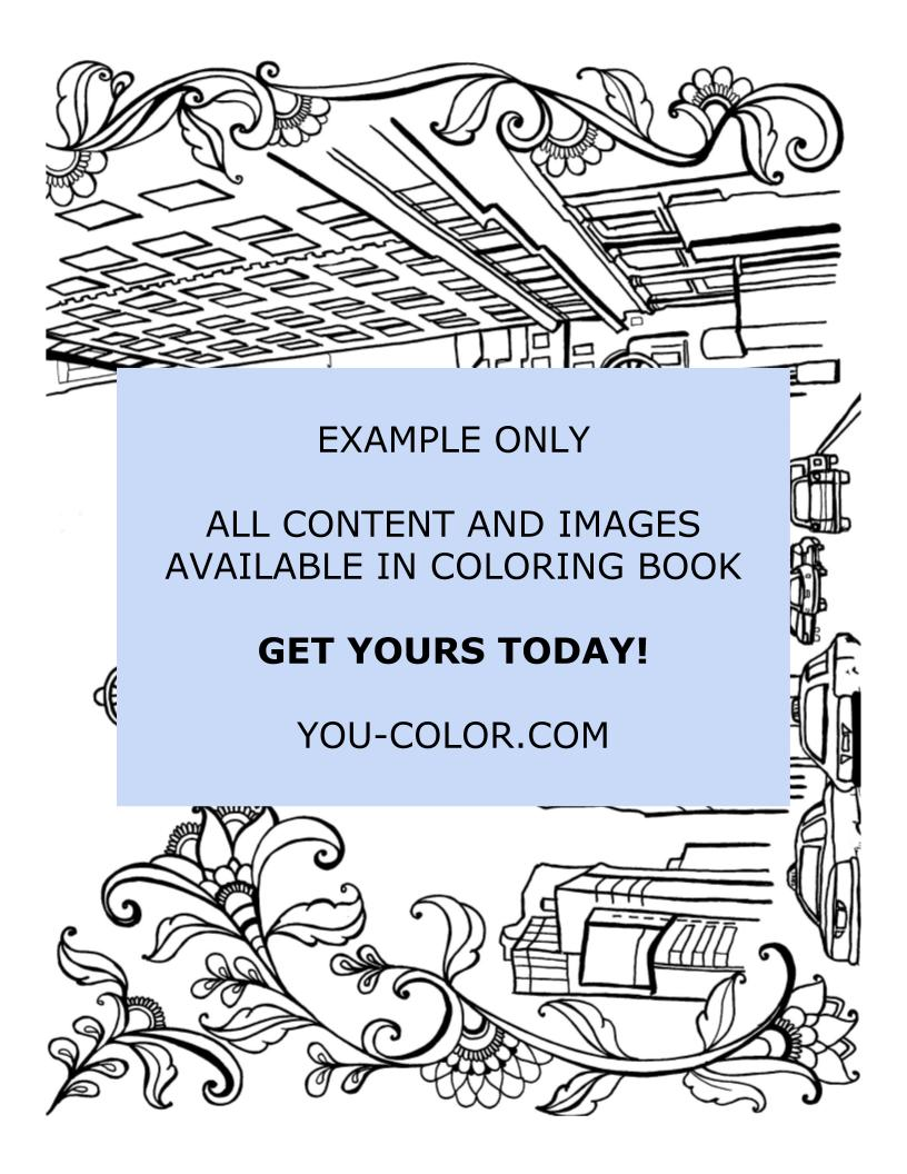 The Flatiron District - Coloring Page